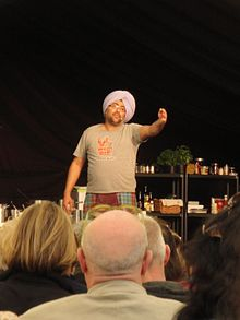 Hardeep Singh Kohli performing at Isle of Arts Festival 2012 5.JPG