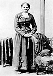 Harriet Tubman (c. 1870). A worker on the Underground Railroad, Tubman made 13 trips to the South, helping to free over 70 people.