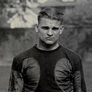 1922 College Football All-America Team - Harry Kipke of Michigan.