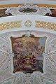 Hart im Zillertal - Pfarrkirche hl Bartholomäus - Deckenmalerei und -verzierung mit Uhr über der Apsis.jpg