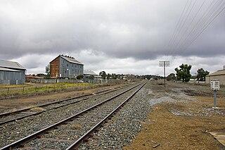 Hay railway line
