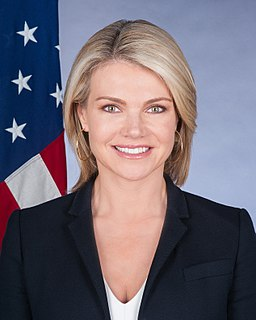 Heather Nauert American journalist