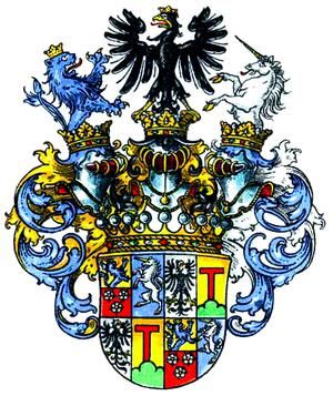 Henckel von Donnersmarck - Coat of arms of the Counts Henckel von Donnersmarck