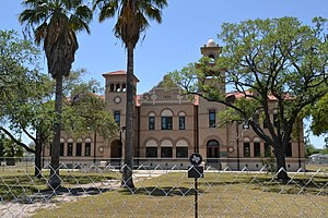 National Register of Historic Places listings in Kleberg County, Texas - Image: Henrietta M. King High School, Kingsville, Texas