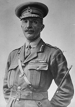 Henry Hughes Wilson, British general, photo portrait standing in uniform.jpg