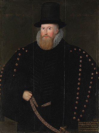 Henry Norris, 1st Baron Norreys - Henry Norris, aged 60, 1585