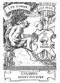 Henry Van Dyke bookplate.png