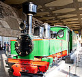 Henschel steam locomotive in Sofia Central Railway Station 2012 PD 07.jpg