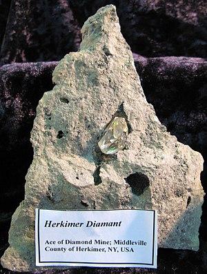 Herkimer diamond - Herkimer Diamond - Middleville, County of Herkimer, NY, USA