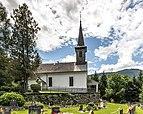 Hermagor Mitschig Pfarrkirche hl. Magdalena Nord-Ansicht 18062018 3605.jpg