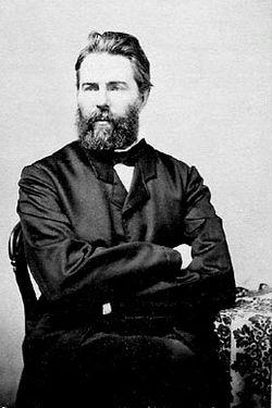Ο Χέρμαν Μέλβιλ το 1860