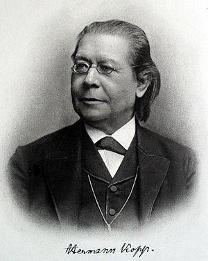 Kopp's law - Hermann Franz Moritz Kopp