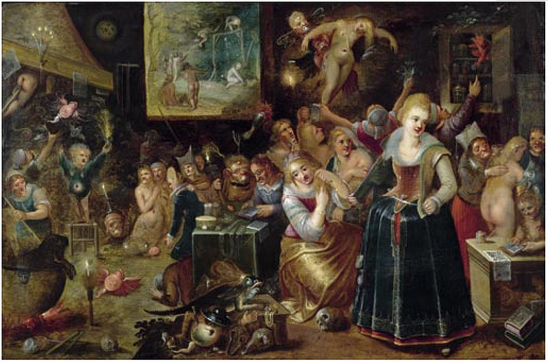 File:Hieronymus Francken II (attr.) - The witches' kitchen.jpg