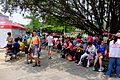 Hiking People Rest under the Tree of Taipei Expo Park 20150509.jpg