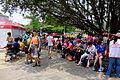 Hiking People Rest under the Tree of Taipei Expo Park 20150509.jpg