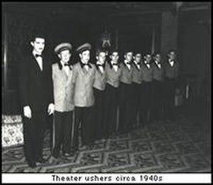 Rialto Center for the Arts - Rialto Ushers circa 1940s