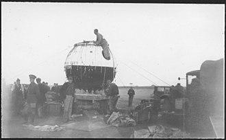 Flight altitude record - Explorer II gondola, 1935