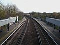 Hither Green stn Sidcup line high eastbound.JPG