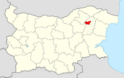 Hitrino Municipality within Bulgaria and Shumen Province.