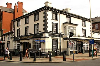 Listed buildings in Southport - Image: Hoghton Arms, Southport