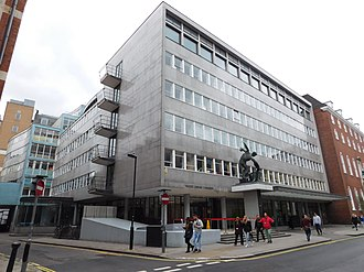 Congress House - Image: Holborn (Bloomsbury) Great Russell Street Congress House (28025736532)