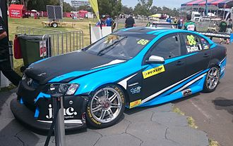 2016 Supercars Dunlop Series - Paul Dumbrell placed seventh for Eggleston Motorsport in a Holden VE Commodore.