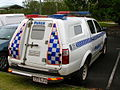Holden Crewman ute tray-caged canopy on Toyota Hilux 4X4 crew cab - Flickr - Highway Patrol Images.jpg