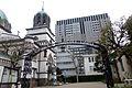 Holy Resurrection Cathedral in Tokyo - back gate - jan 29 - 2015.jpg