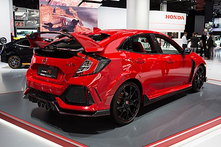 2017 Honda Civic Type R (FK8, Germany)