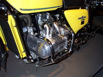 Honda Gold Wing - 1976 GL1000 engine closeup
