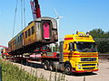 Hondekop loaded onto Volvo of Klomp International Transport Zwolle, pic1.JPG