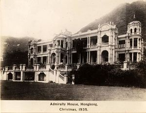 Paul Chater - Image: Hong Kong Admiralty House 1935.preview