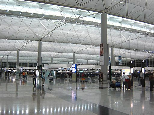 Hong Kong Airport Inside