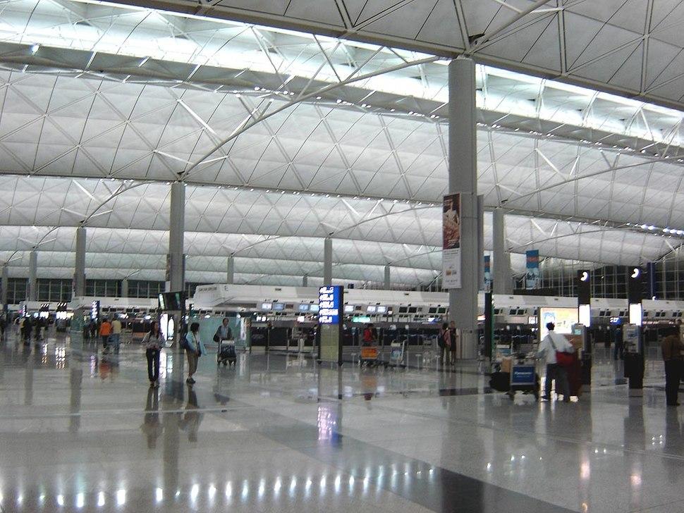Hong Kong Airport Inside