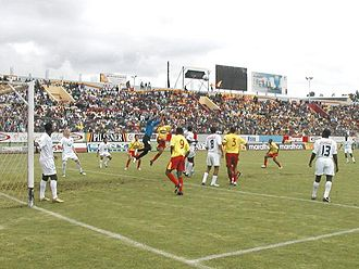 S.D. Aucas - Superclásico in Quito, 2005