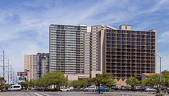 High-rise hotels and condos in North Ocean City Hotel and condos Ocean City MD1.jpg