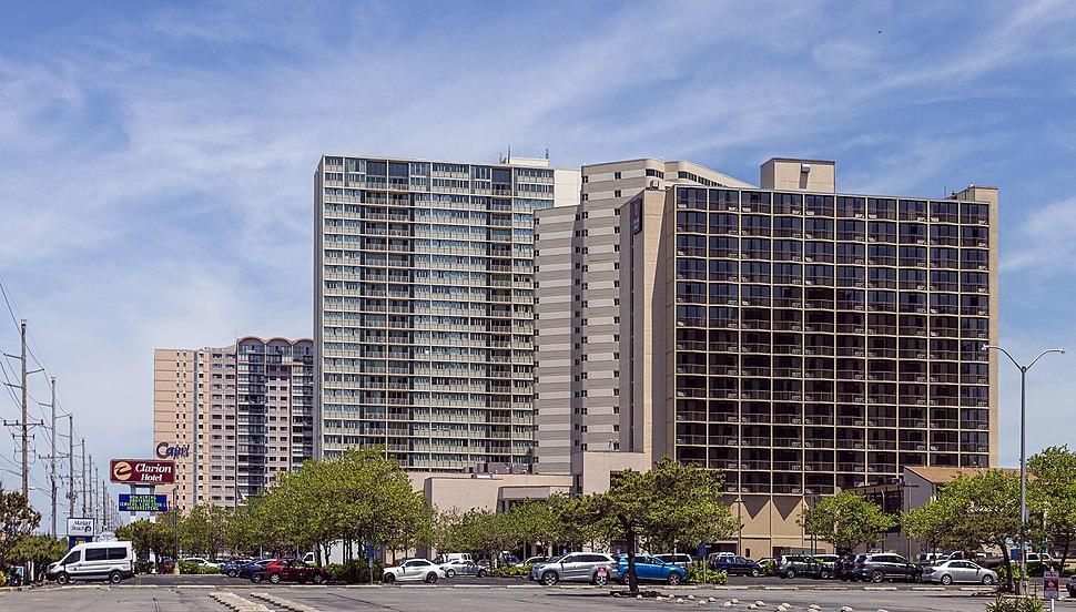 Hotel and condos Ocean City MD1
