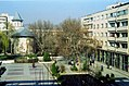 Hotel view, Bârlad, Romania March 2001 (4246009342).jpg