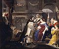 Houbraken, Arnold - Commemoration of King Mausolus by Queen Artemisia.jpg