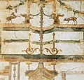 House of the Prince of Naples in Pompeii Plate 154 Triclinium East Wall Upper Zone MH.jpg