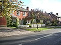 Houses in Castle Grove Road, Chobham - geograph.org.uk - 73365.jpg
