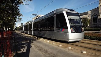 METRORail - Image: Houston Metro Rail CAF Cars 2015 01 25 Main@Homan 301