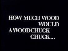 How Much Wood Would a Woodchuck Chuck 1976 film.jpg