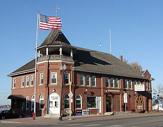 Wright County, Minnesota - Image: Howard Lake City Hall