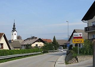 Hrastje, Kranj Place in Upper Carniola, Slovenia