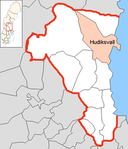 Hudiksvall Municipality in Gävleborg County.png