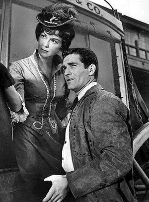 The Life and Legend of Wyatt Earp - Hugh O'Brian as Wyatt Earp and Adele Mara (1961)