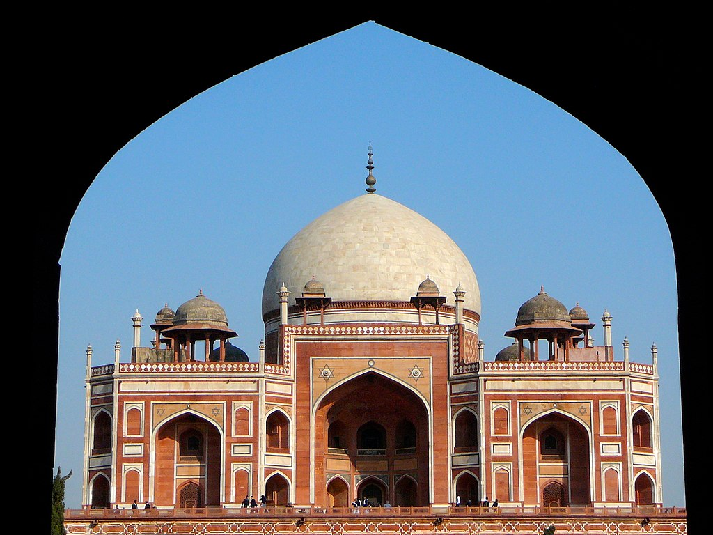 Humayun's Tomb from the entrance, Delhi