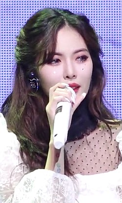 Hyuna at a showcase on November 5, 2019.jpg