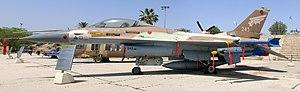 Ilan Ramon - F-16A Netz 243 flown by Ilan Ramon in Operation Opera